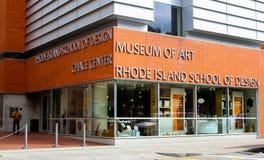 Rhode Island School des Designs, Kunstmuseum Stockbilder