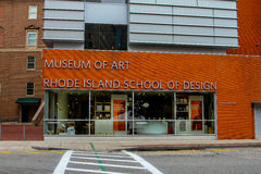 Rhode Island School des Designs, Kunstmuseum Stockfotos