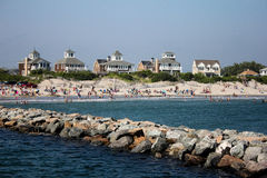 Rhode Island Shoreline Stock Photo