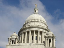 Rhode Island State Capitol. In Providence, RI stock image