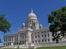 Rhode Island State Capitol building Royalty Free Stock Photo