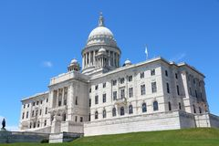 Rhode Island state capitol Royalty Free Stock Photo