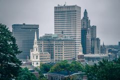 The Rhode Island State House on Capitol Hill in Providence Stock Images