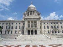 Rhode Island State House försyn, RI fotografering för bildbyråer