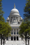 Rhode Island State House Front View Royalty Free Stock Image