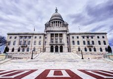 Rhode Island State House Royalty Free Stock Photo