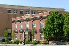 Rhode - wyspy społeczeństwa Medyczny budynek, opatrzność Zdjęcia Royalty Free