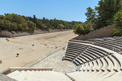 Rhodes Antique Amphitheater Imagem de Stock Royalty Free