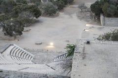 Rhodes Antique Amphitheater immagini stock