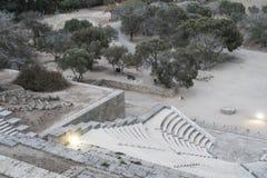 Rhodes antyka amfiteatr Obraz Stock
