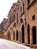 Rhodes - Avenue of the Knights Stock Photography