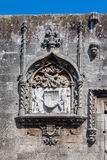 Rhodes Bas Relief Wall Royalty Free Stock Images
