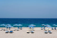 Rhodes beach. Beach/seaview /popular holiday destination/rhodes/greece royalty free stock photos