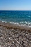 Rhodes Beach Arkivbild