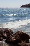 Rhodes Beach Royaltyfri Fotografi