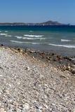 Rhodes Beach Royaltyfri Foto