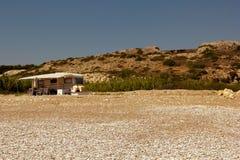 Rhodes Beach Royaltyfri Bild