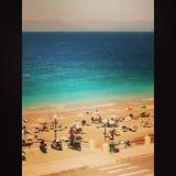 Rhodes Beach images libres de droits