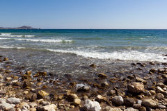 Rhodes Beach Royalty Free Stock Image