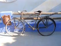 Rhodes bicycle composition Stock Photos