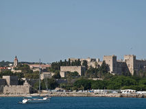 Rhodes Castle Stockfoto
