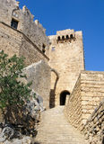 Rhodes Castle Stock Image