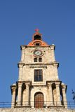 Rhodes Church Tower Royalty Free Stock Photos