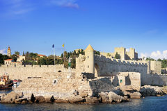 Rhodes.City landscape in a sunny day Royalty Free Stock Image