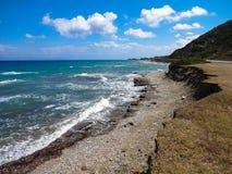 Rhodes coast, Stock Photos
