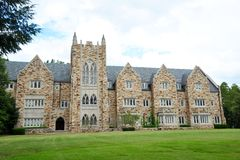 Rhodes College Campus building Memphis, Tennessee. Rhodes College was founded in 1848 in Clarksville, Tennessee as the Masonic University of Tennessee (and Stock Image