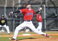 Rhodes College Pitcher Royalty Free Stock Images