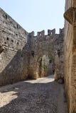 Rhodes en Grèce Photo libre de droits