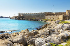 Rhodes fortress Stock Images