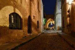Rhodes gammal stad Royaltyfri Fotografi