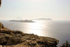 Rhodes. Grecja. Wyspa. Zdjęcie Stock