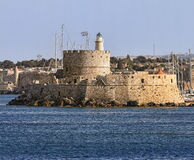 Rhodes in Greece Stock Image