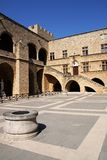 Rhodes, Greece. Palace of Grand Masters in Rhodes, Greece Stock Image