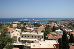 Rhodes in Greece Stock Images