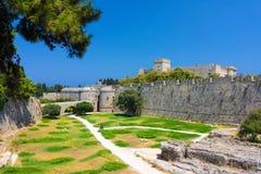 Rhodes Greece Europe historique Photos stock