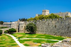 Rhodes Greece Europe historique Images stock