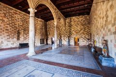 Grand Master Palace in Rhodes Stock Photos