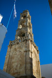 RHODES, GREECE: Old tower Stock Photos