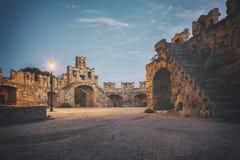 Rhodes grodzka brama zdjęcia stock