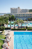 Rhodes hotels Royalty Free Stock Photography