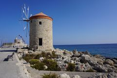 Rhodes - Island - Greece royalty free stock image