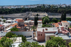 Rhodes Island Greece Stock Images
