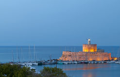 Rhodes island in Greece Royalty Free Stock Photography