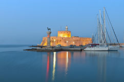 Rhodes island in Greece Stock Photo
