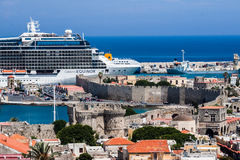 Rhodes Island Greece Royalty Free Stock Photos
