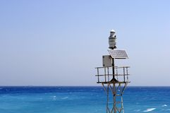 Rhodes Island lighthouse Stock Photography